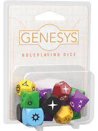 Genesys: Roleplaying Dice