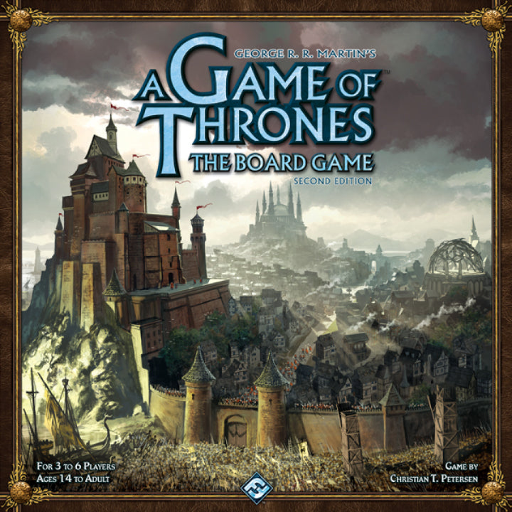 A Game of Thrones: The Board Game - 2nd Edition (Previously Played)