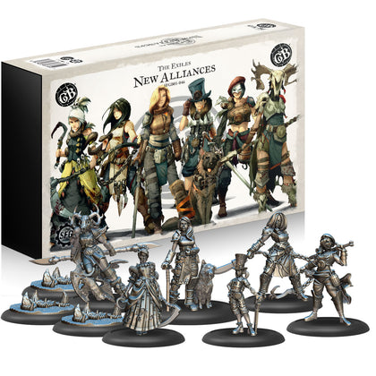 [PRE-ORDER] Guild Ball: The Exiles - New Alliances