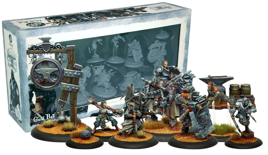 Guild Ball: The Blacksmiths Guild - Master Crafted Arsenal