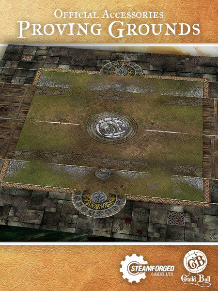 Guild Ball: Proving Grounds Playmat