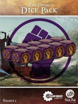 Guild Ball: The Union - Dice Pack