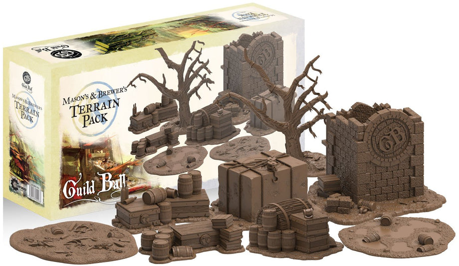 Guild Ball: Masons & Brewers Terrain Pack