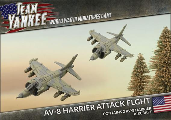 Team Yankee: AV-8 Harrier Attack Flight - US