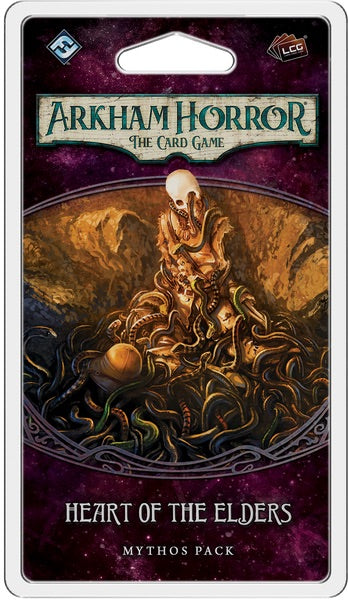 Arkham Horror: The Card Game - Heart of Elders Mythos Pack