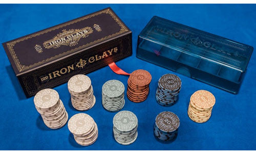 Iron Clays: Retail Box - Brass (100 count)