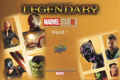Marvel Legendary: 10th Anniversary - Studios Phase 1
