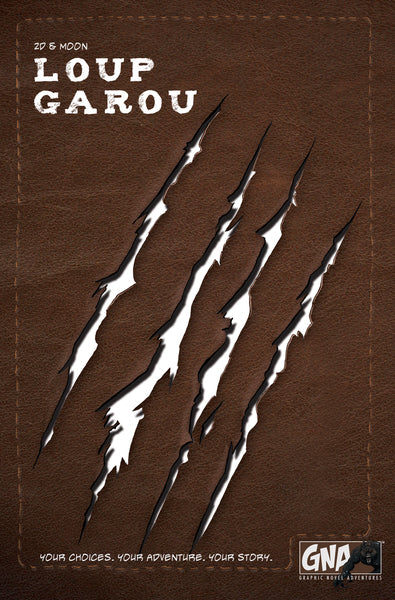 Loup Garou - Graphic Novel Adventures (Hardcover)