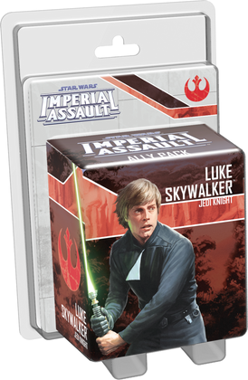 Star Wars: Imperial Assault - Luke Skywalker Jedi Knight Ally Pack