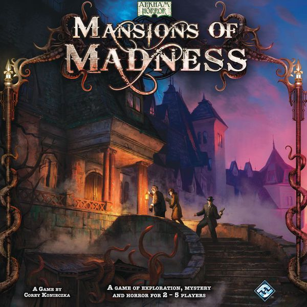 Mansions of Madness - 1st Edition (Previously Played)