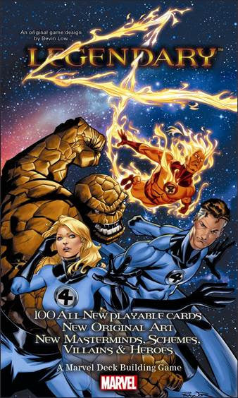 Marvel Legendary: Fantastic Four Expansion