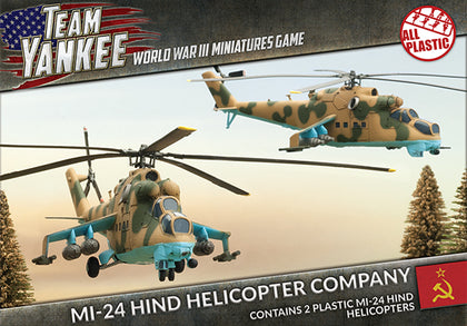 Team Yankee: Mi-24 Hind Helicopter Company - SOVIET