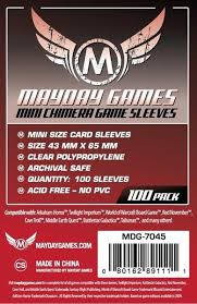 Mayday Chimera Mini Card Sleeves 43mm x 65mm (100 pack)