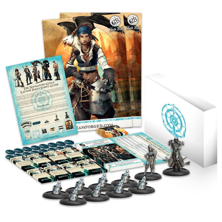 Guild Ball Launch Pack: Navigator's Guild