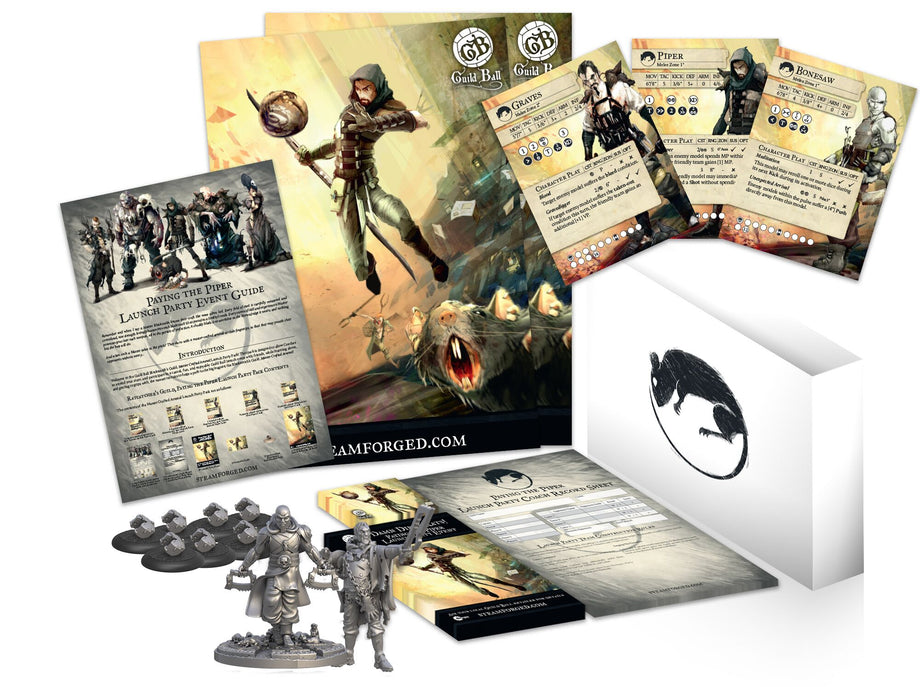 Guild Ball Launch Pack: Ratcatchers Guild
