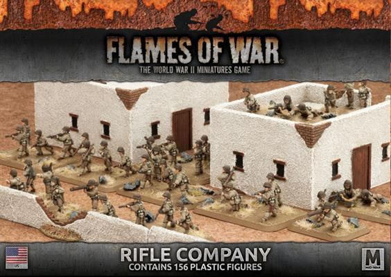 Flames of War:  Rifle Company - US
