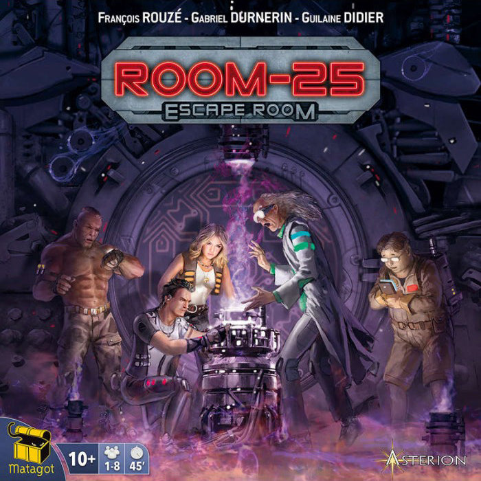 Room 25: Escape Room Expansion