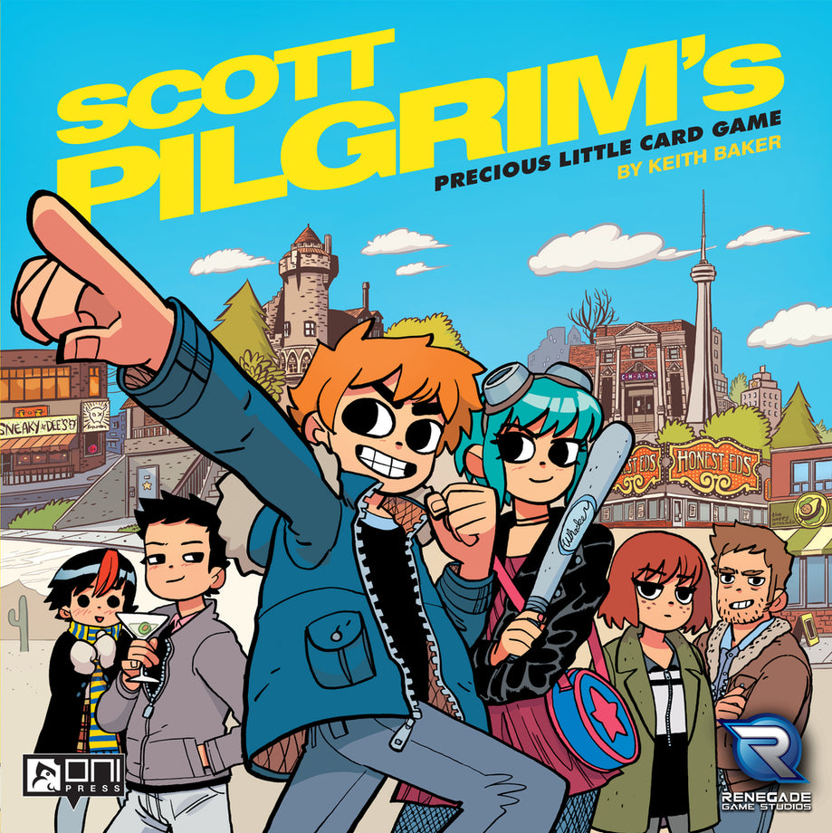 Scott Pilgrim's Precious Little Card Game (Previously Played)