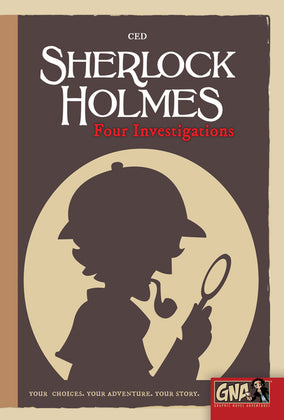 Sherlock Holmes: Four Investigations - Graphic Novel Adventures (Hardcover)