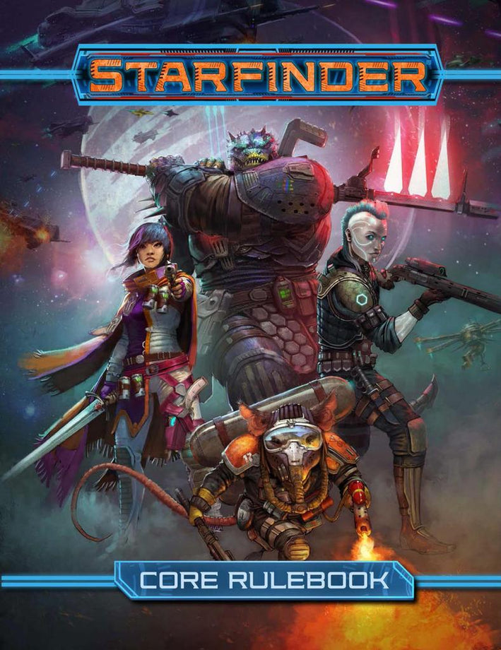 Starfinder: Core Rulebook (Hardcover)