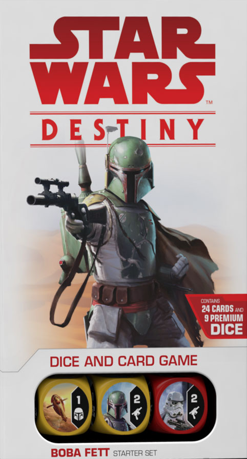 Star Wars: Destiny - Legacies Boba Fett Starter Set (Minor Box Damage)
