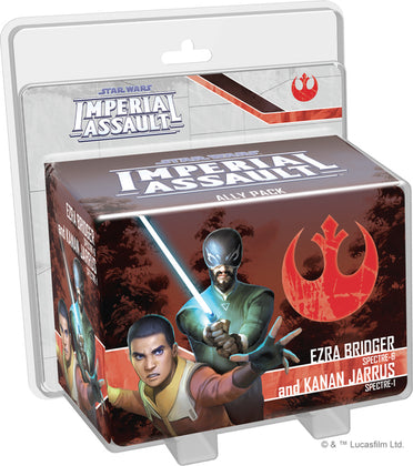 Star Wars: Imperial Assault - Ezra Bridget and Kanan Jarrus Ally Pack