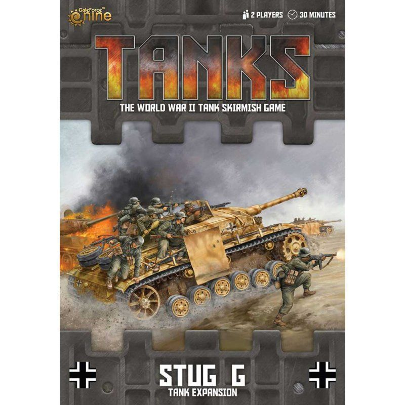 Tanks: StuG G Expansion - GERMAN