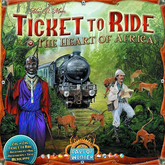 Ticket to Ride: Africa Expansion (Minor Box Damage)