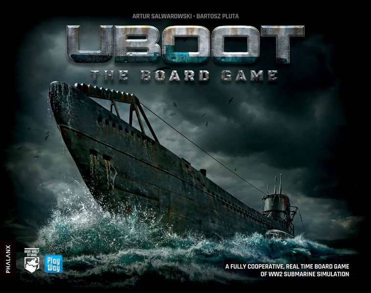 UBOOT: The Board Game (Box Damage)