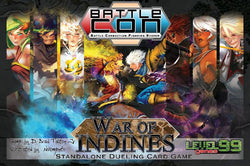 BattleCON: War of Indines (Minor Box Damage) plus Prince Elien, Bruce Lee and opened Nehtali.