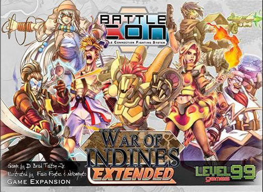 BattleCON: War of Indines Extended (Box Damage)