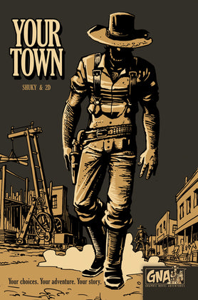 Your Town - Graphic Novel Adventures (Hardcover)