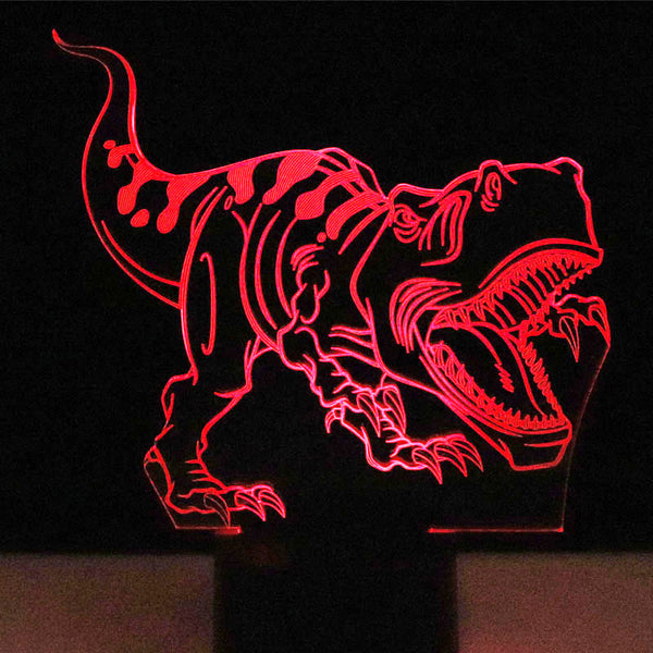 Super T-Rex 3D LED Lamp