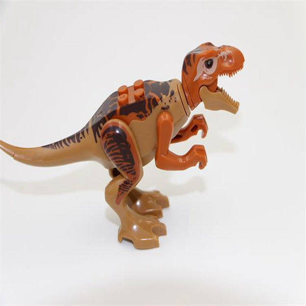 Jurassic World Dino Puzzle Block Toys (8 Pcs)