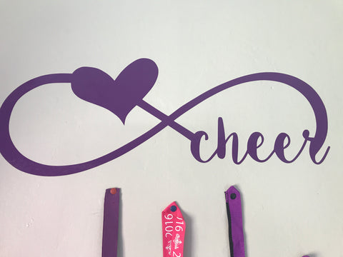 Cheer wall decal - large