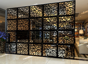 Customize Hanging Room Divider Screen 6pcs - VMC Creative Designs