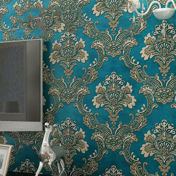 Damask European Vintage Wallpaper - VMC Creative Designs