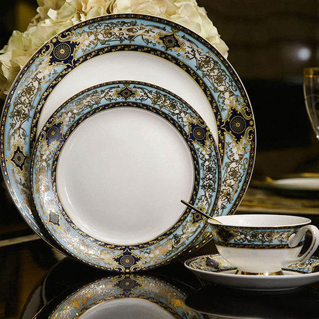 British Style Porcelain Tableware  Set - VMC Creative Designs