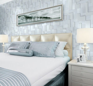 Mosaic Plaid Print Wall Paper - VMC Creative Designs