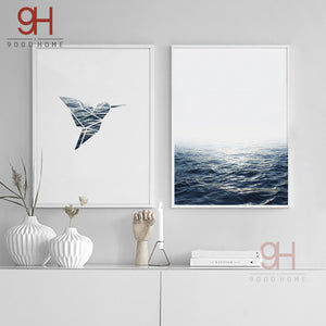 Seascape Canvas Wall Art - VMC Creative Designs