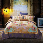 Mandela Tribute Silk Duvet Cover  Set - VMC Creative Designs