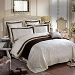 Jacquard Silk Home Textile Bedding Set - VMC Creative Designs