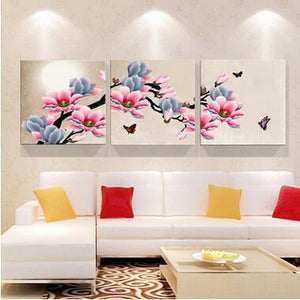 Orchid Canvas Poster Wall Art - VMC Creative Designs