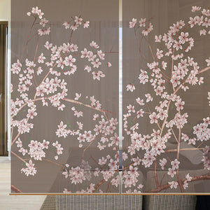 Floral Design Pattern Hanging Screen - VMC Creative Designs
