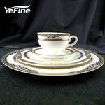 YeFine Royal Bone China  Dinnerware Set - VMC Creative Designs