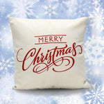 Vintage Christmas  Pillow with Cushion - VMC Creative Designs