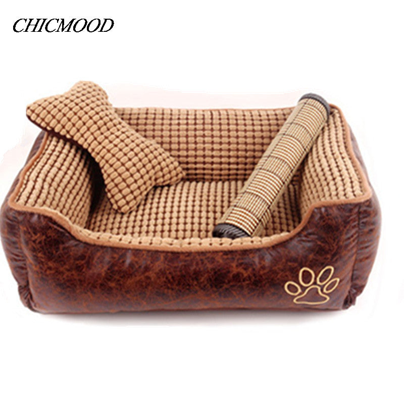 3 size washable luxury dog beds