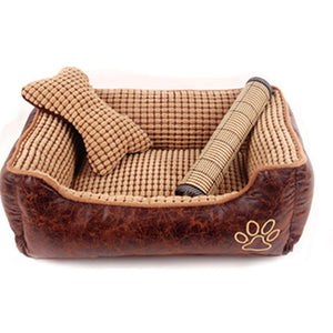 3 size washable luxury dog beds - VMC Creative Designs