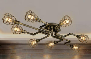 American Retro Style industrial loft Ceiling light - VMC Creative Designs