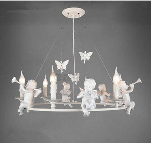 Angel Attachments for Pendant Light - VMC Creative Designs